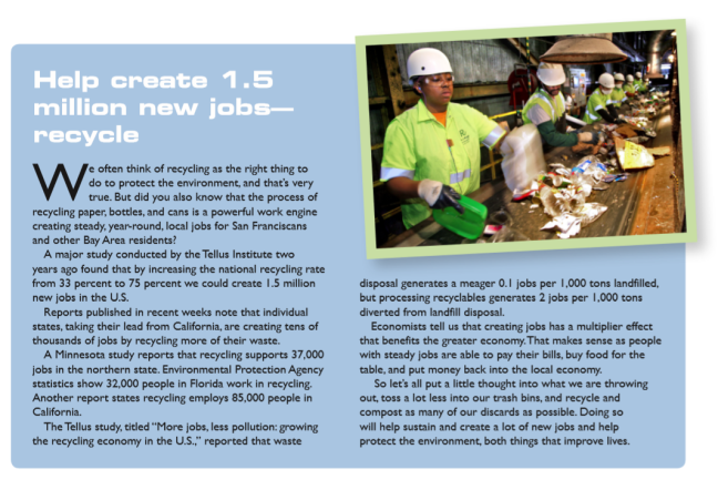 Recycling Creates Jobs