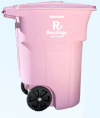 Recology Pink Toter